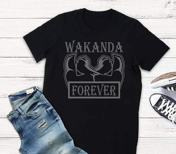 Black Panther Tee 4 - Must Have Black Panther T-Shirts Inspired by the Badass Wakanda Women