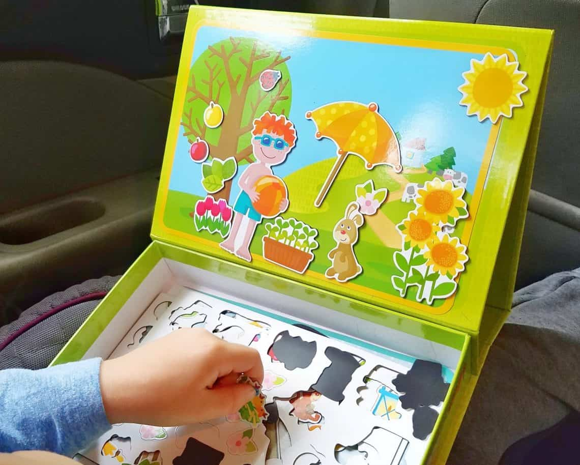 keep kids learning over summer The Seasons Magnetic Box