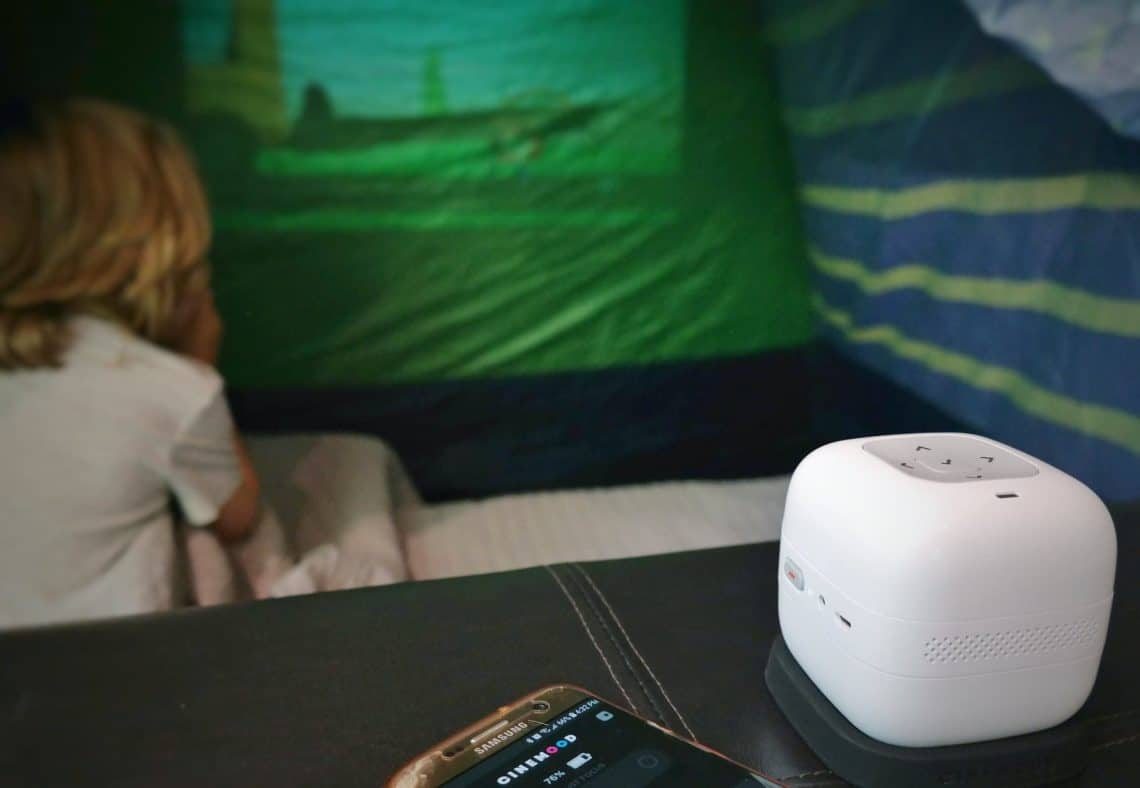 cinemood projector 2 1140x788 - Rainy Day Activities to Keep Kids Busy and Mom Hands Free