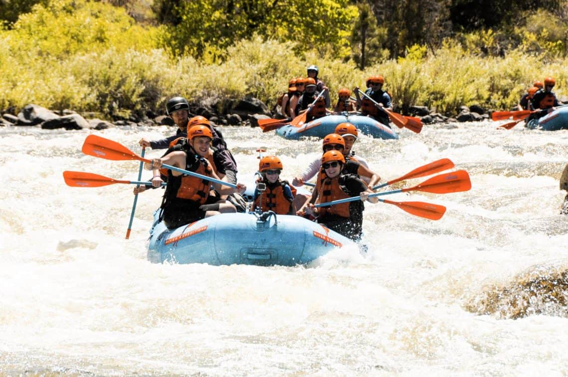 whitewater rafting colorado