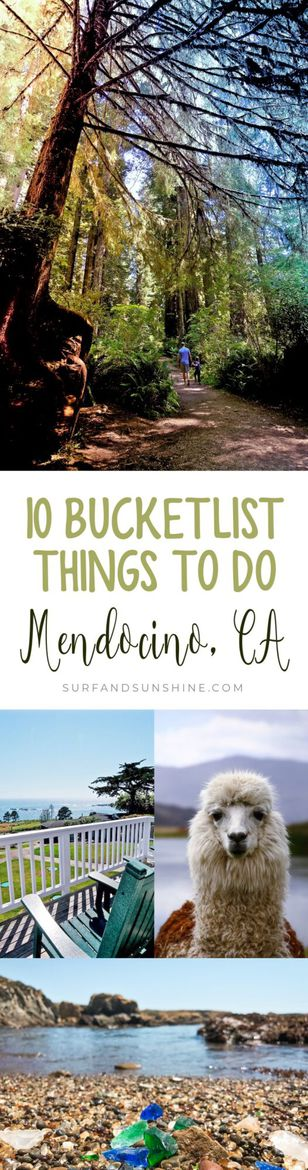 10 Things You Can Strike Off Your Bucket List by Visiting #Mendocino, #California