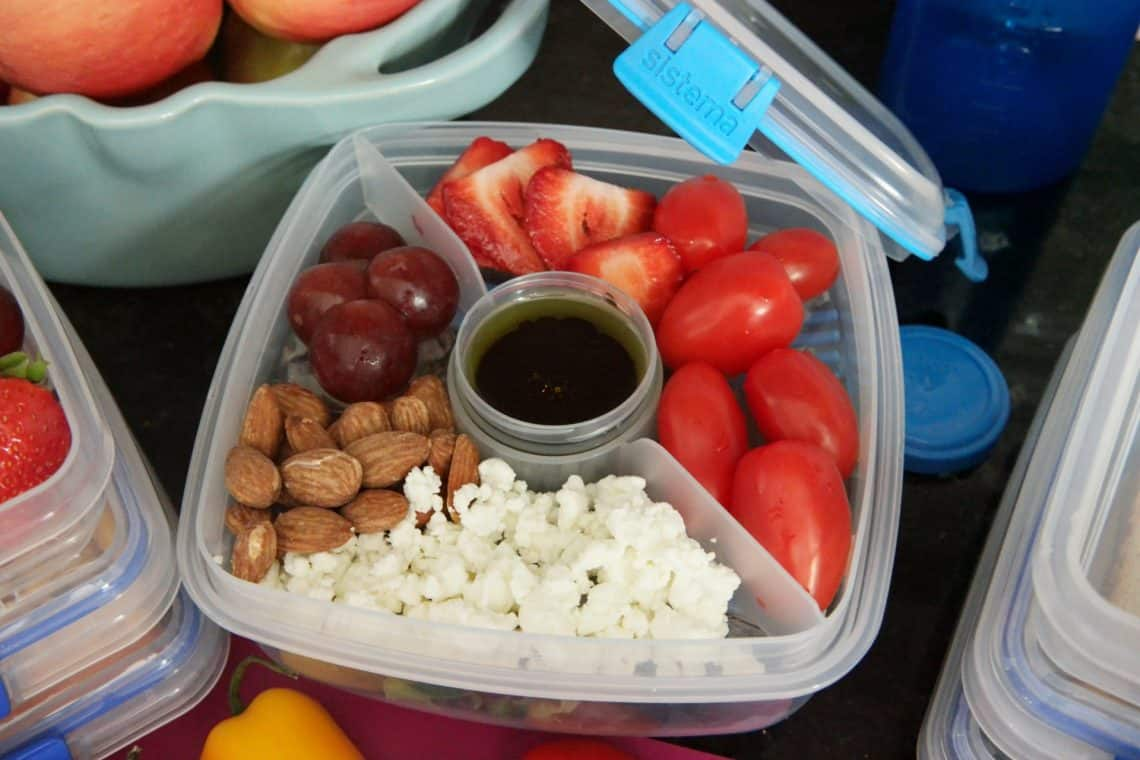 sistema to go benefits of meal prepping