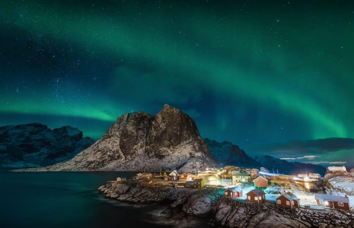 Hamny Aurora 2016 1 preview 1140x734 - 35 Cool and Unusual Ways to Explore Norway's Rugged Coast