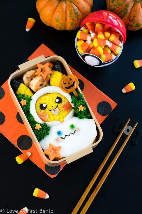 Halloween Pikachu Bento Box 2