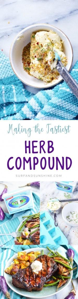 Brummel and Brown herb compound