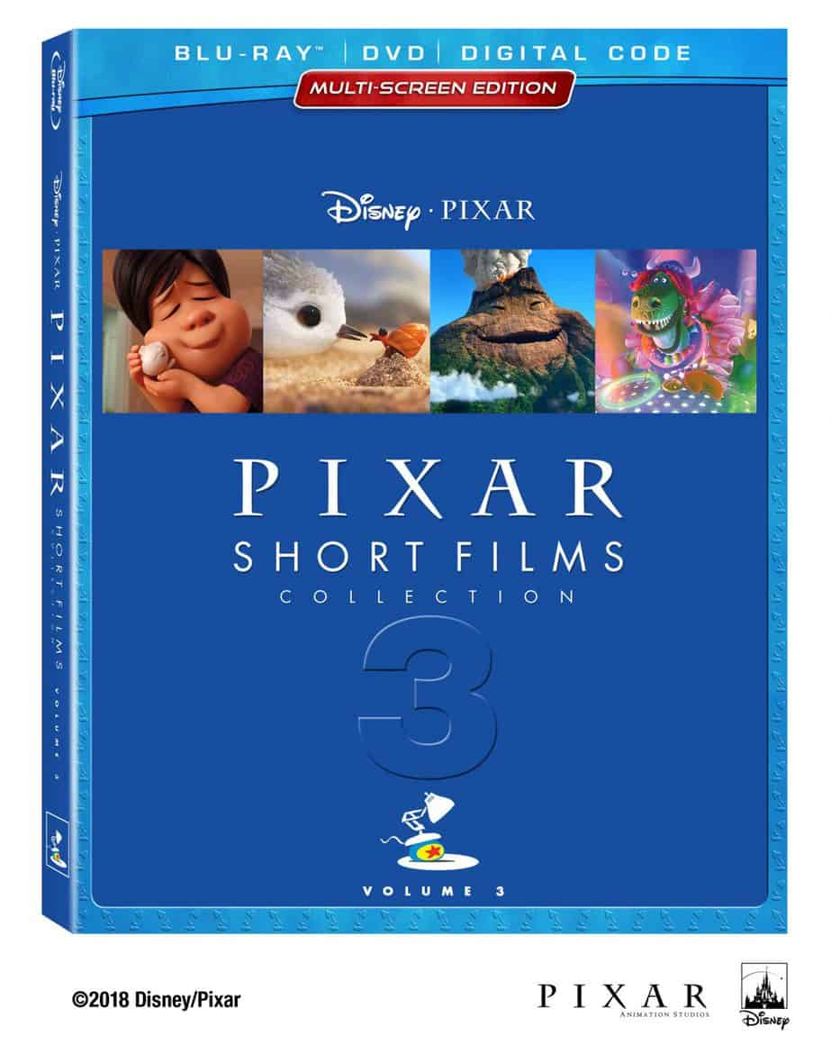 Pixar Short Films Collection Volume 3 BeautyShot BD DVD Digital US CE Static FNL 1140x1445 - Pixar's Latest Shorts Collection Has Something for Everyone