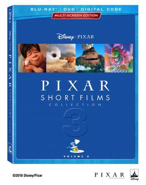 Pixar Short Films Collection Volume 3 BeautyShot BD DVD Digital US CE Static FNL