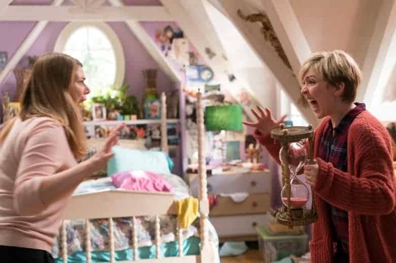 freaky friday still - The stars of Disney Channel's Freaky Friday had a challenge on their hands