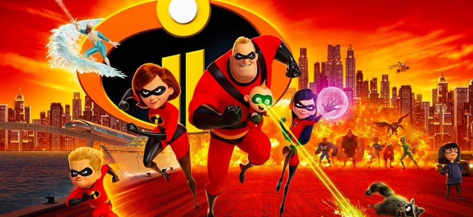 incredibles 2 blu ray 1 - One Powerful Family is Gearing Up for a Super Good Time