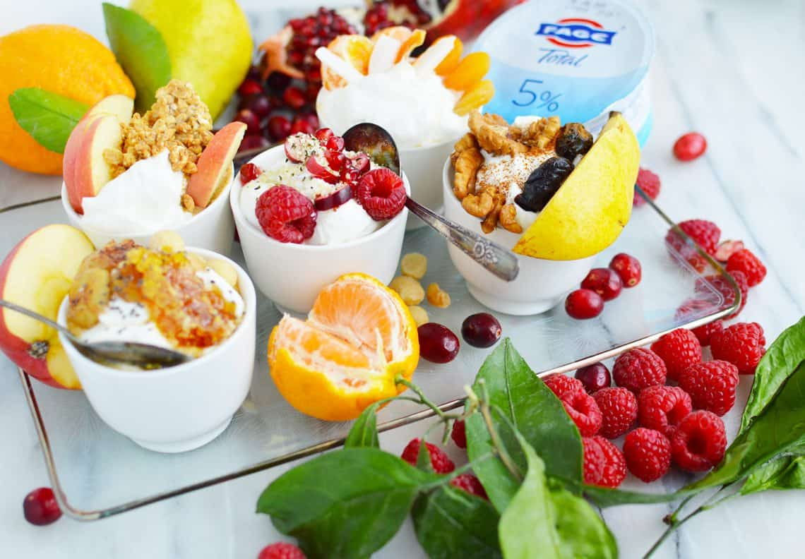 FAGE yogurt bowl ideas