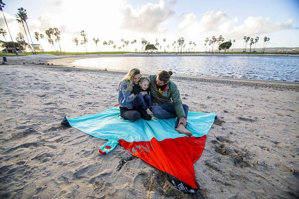 beach blanket  1140x760 - Gift Guide for Adventure Seekers and the Travel Obsessed