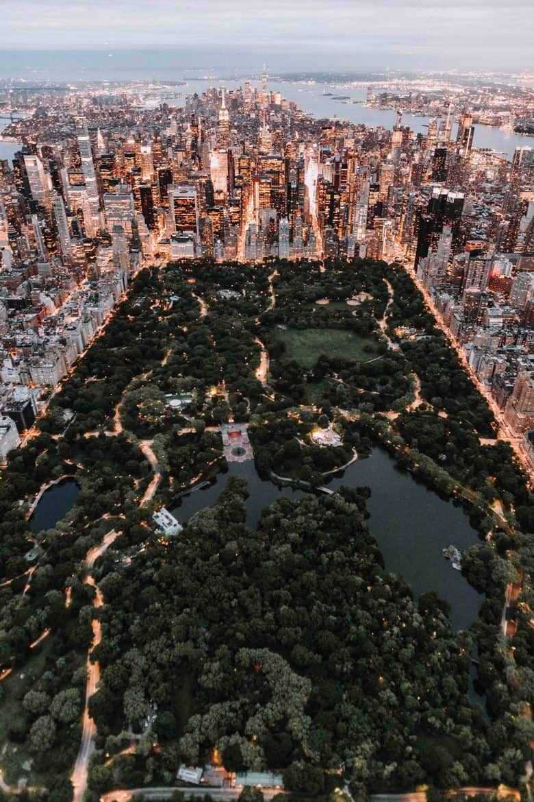 central park from above 1140x1710 - What Would You Do with 4 Bus Tickets and $500?
