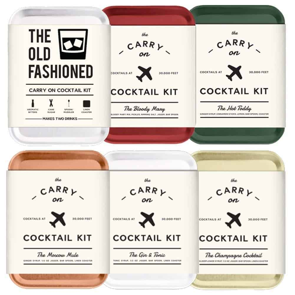 cocktail kit  - Gift Guide for Adventure Seekers and the Travel Obsessed