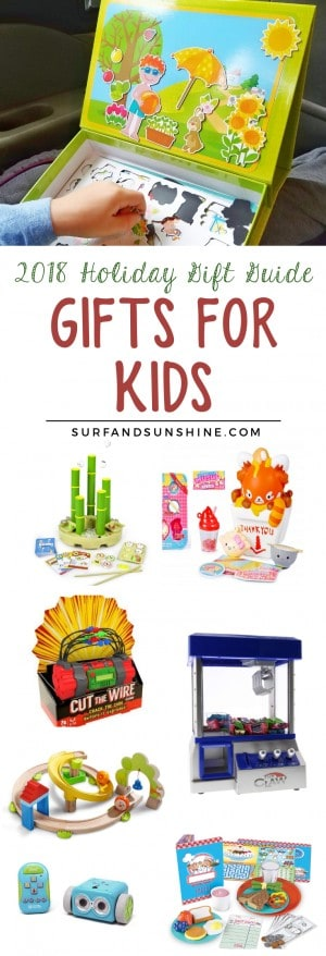 2018 Holiday gift guide gifts for kids