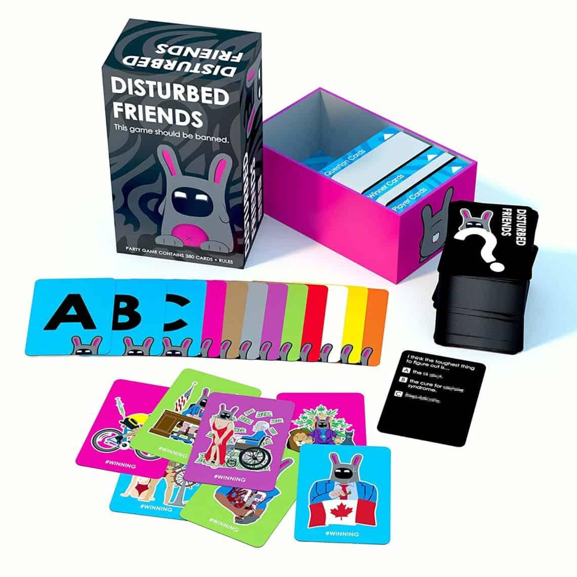 adult games Disturbed friends