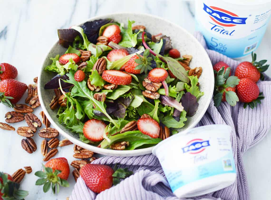 Strawberry Pecan Salad Recipe