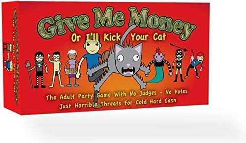 give me money or i'll kick your cat game