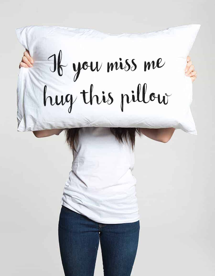 pillow - 18 Crazy Awesome, Thoughtful and Unique Valentine's Day Gift Ideas