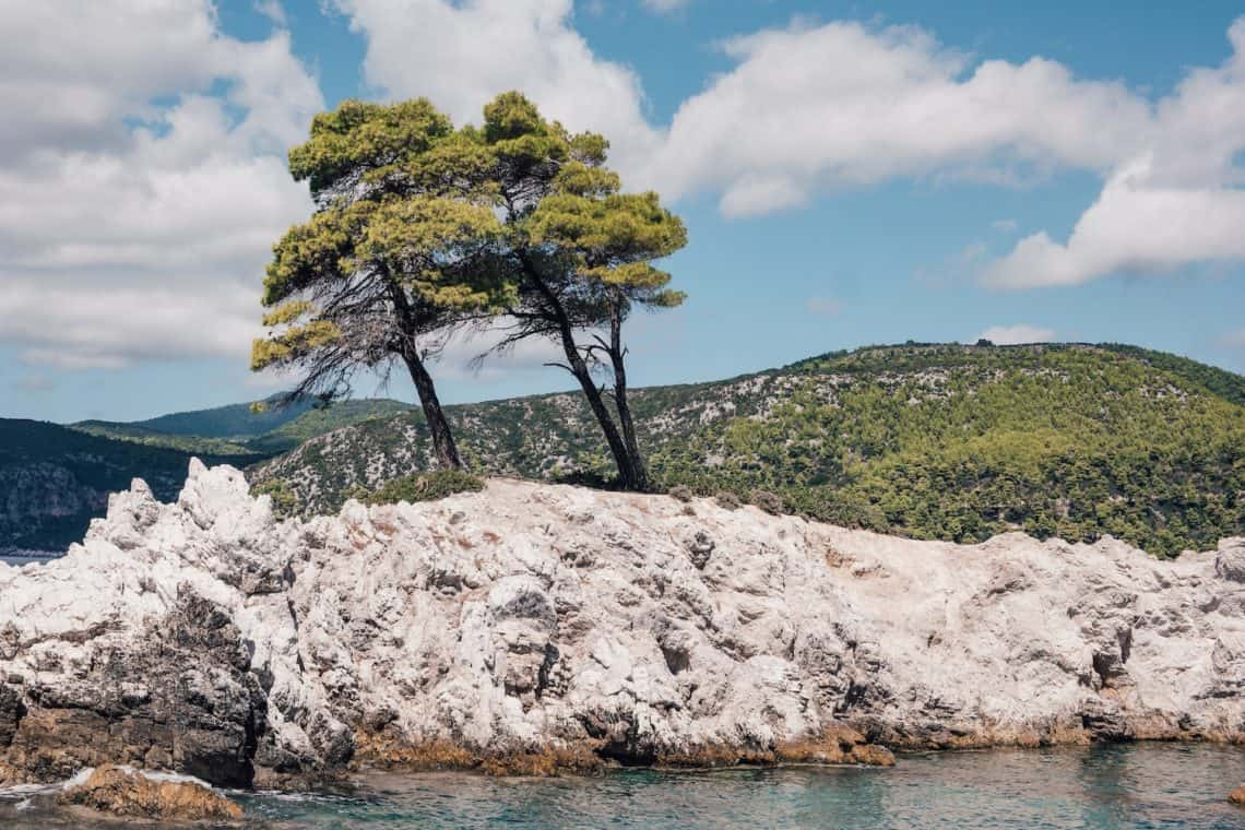 Agnontas Beach Skopelos Greece