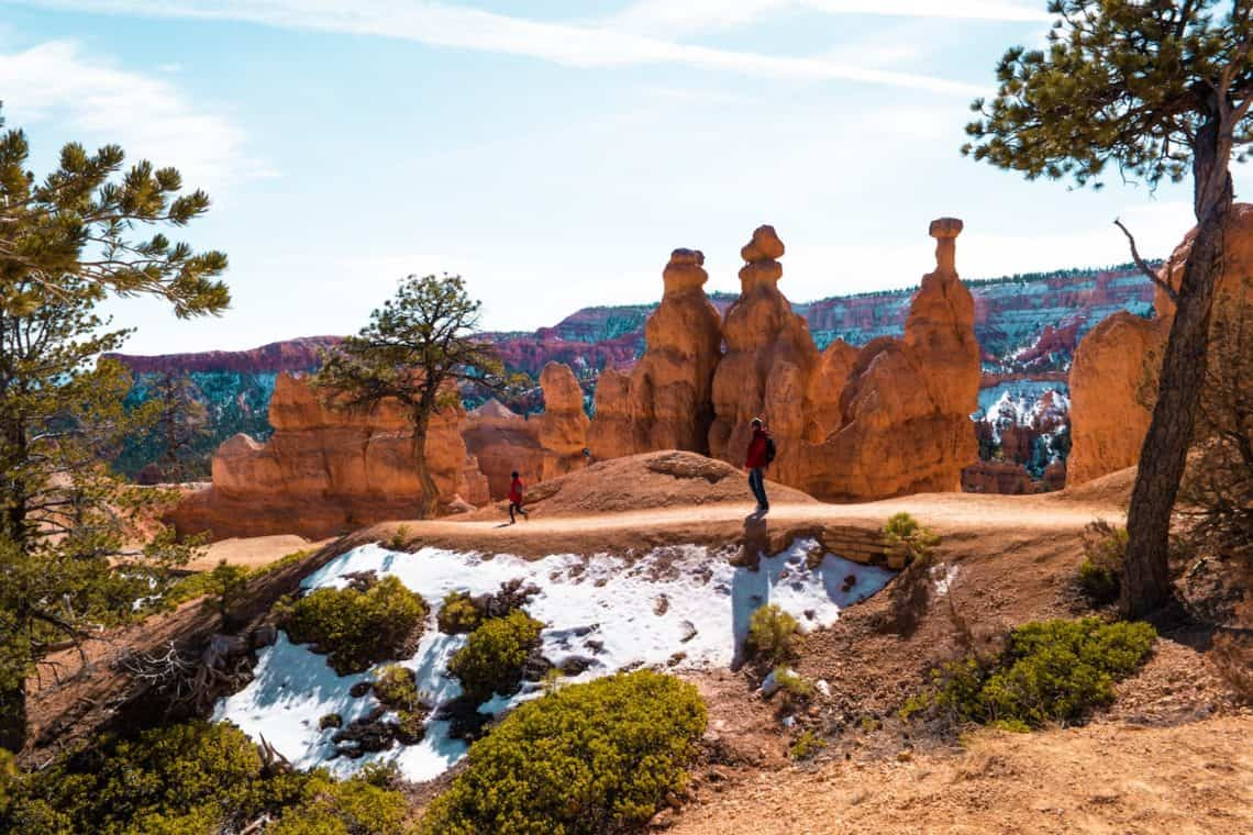 Family friendly hikes in bryce canyon utah Queens Garden Trail