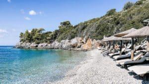 adrina beach hotel beach skopelos greece