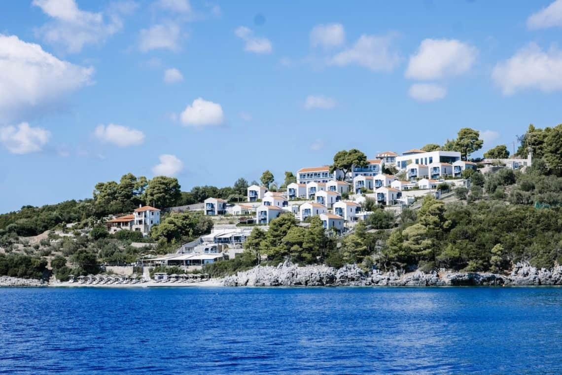 Adriana Beach Hotel Beach Skopelos Greece
