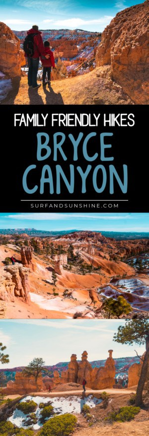 Bryce Canyon Family Friendly Hikes