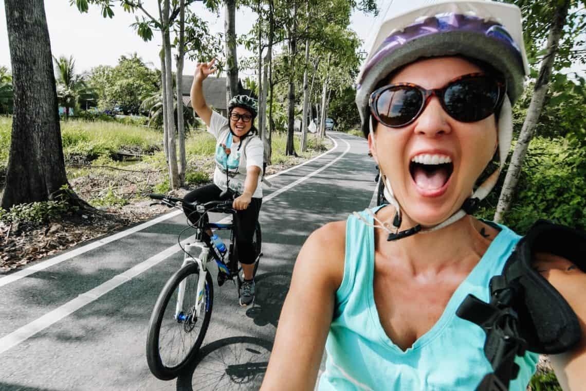 girls riding bikes 5