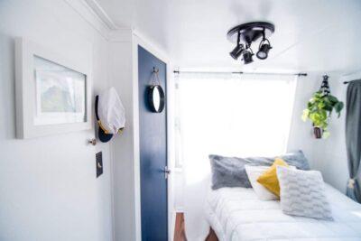 beach inspired bedroom