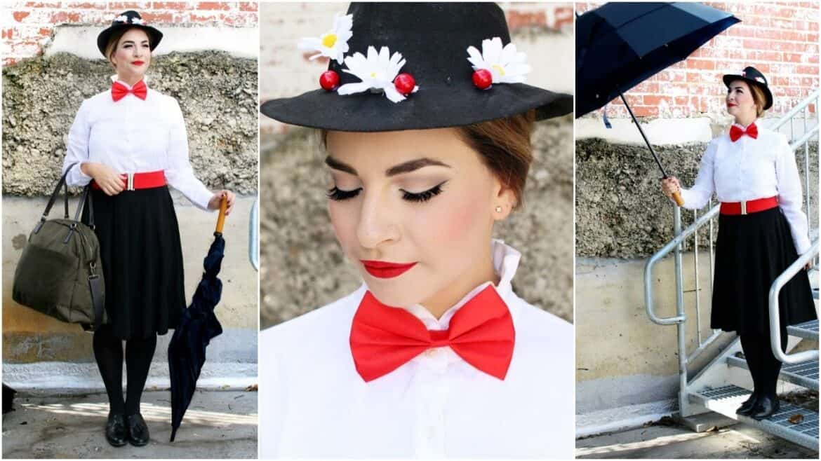 mary poppins hair and makeup