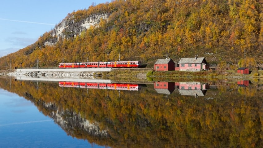 Bergensbanen train