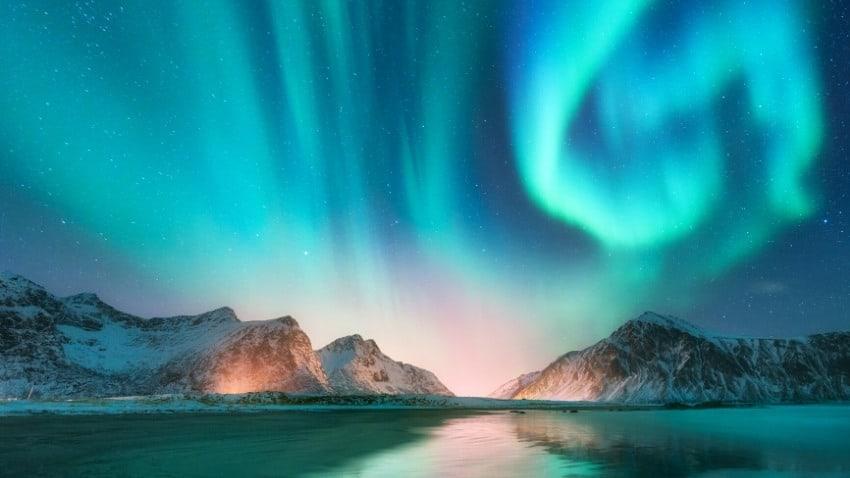 norway aurora borealis