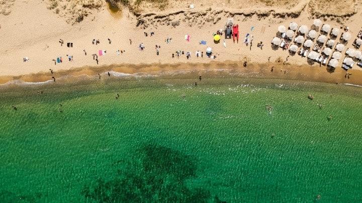 Mamma Mia Island Skopelos Greece Panormos Beach