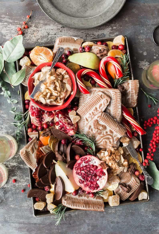 holiday food platter