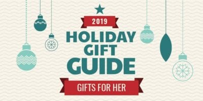2019 Holiday Gift Guide gifts for her twitter image