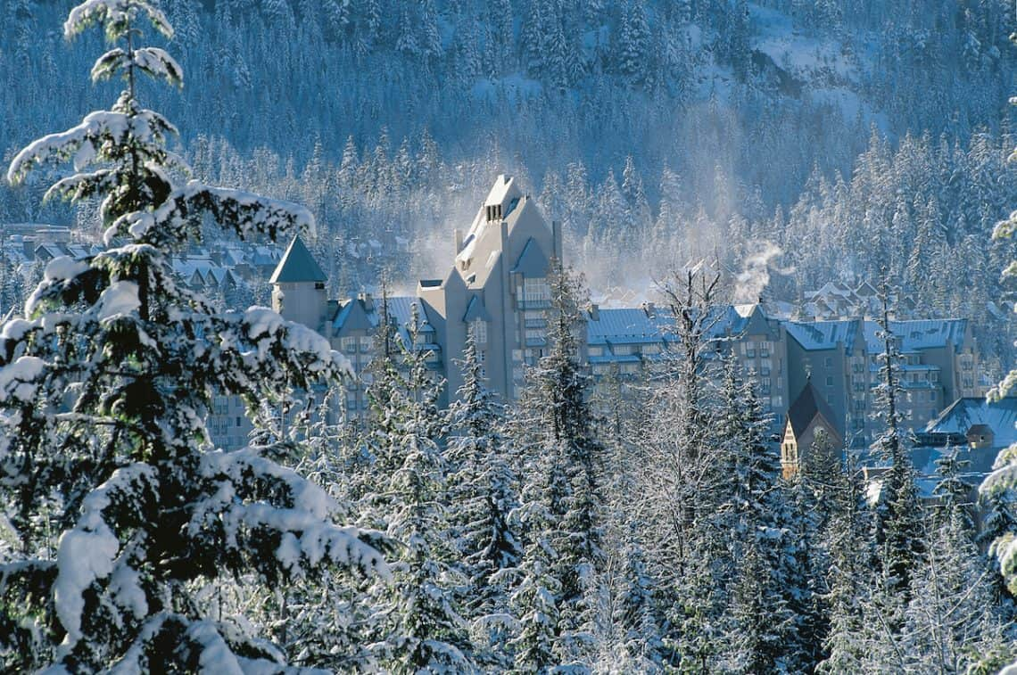 fairmont chateau, whistler canada