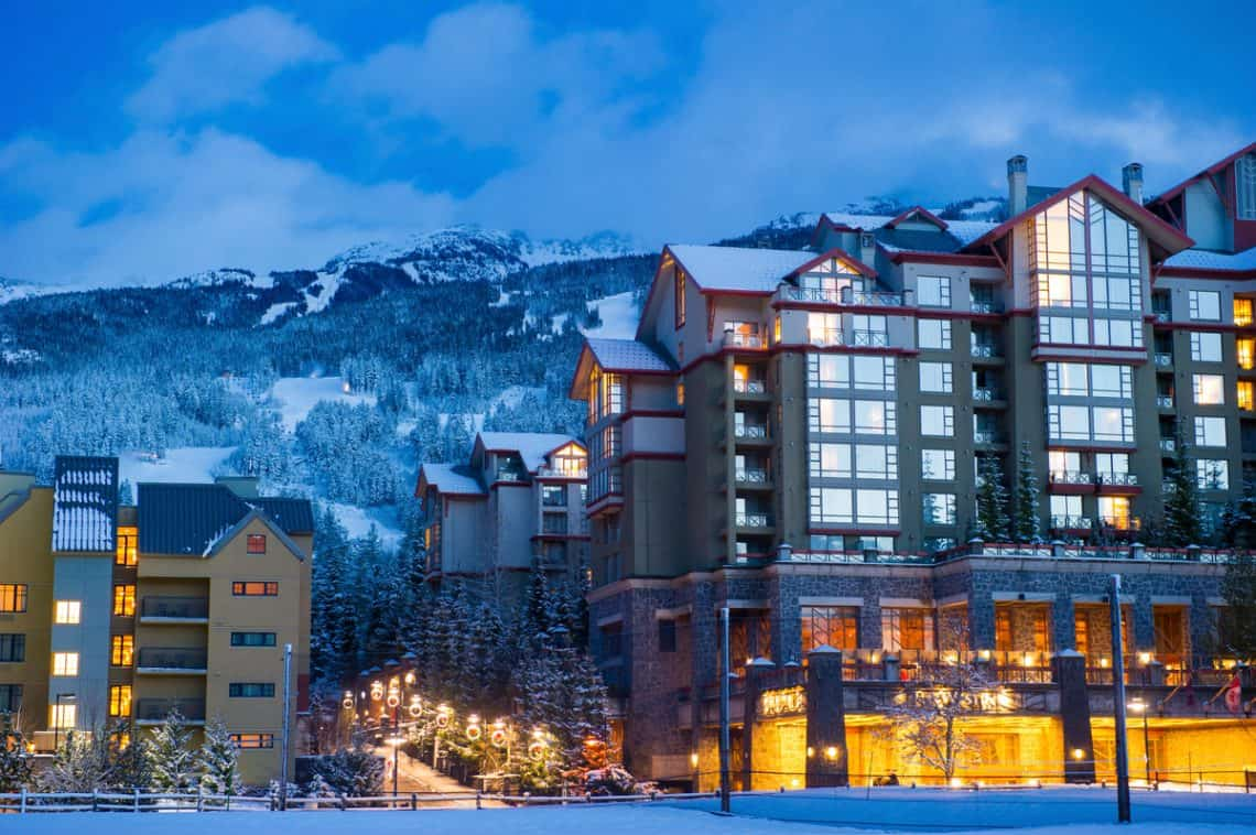 Westin Resort and Spa, Whistler Canada