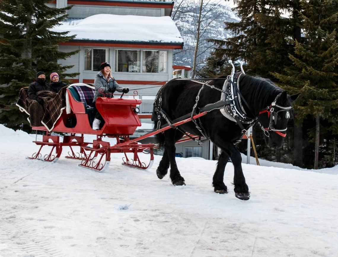 sleigh ride whistler
