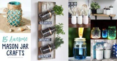 DIY Mason Jar Craft Projects