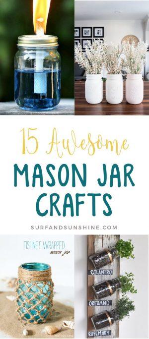 DIY Mason Jar Craft Projects pinterest