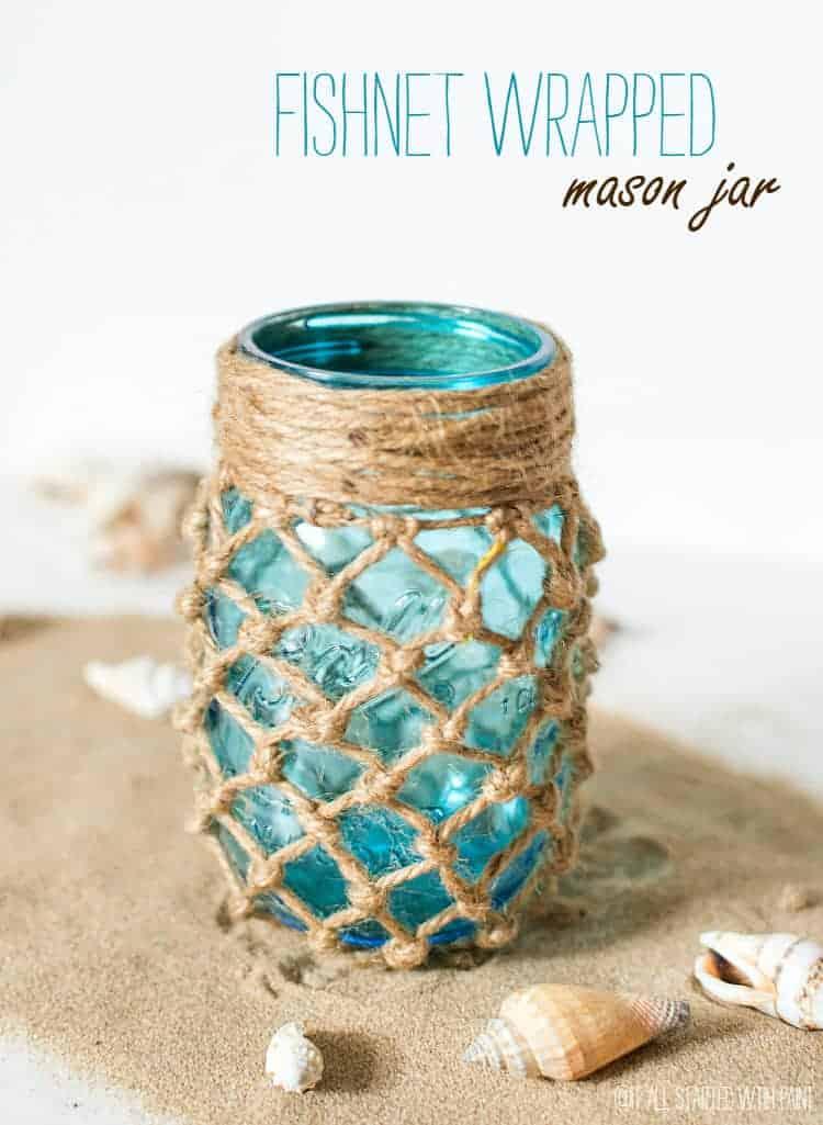 fishnet jar