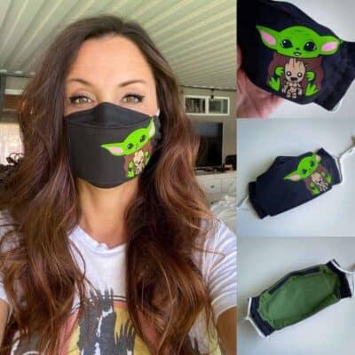 baby aliens easyfit facemask