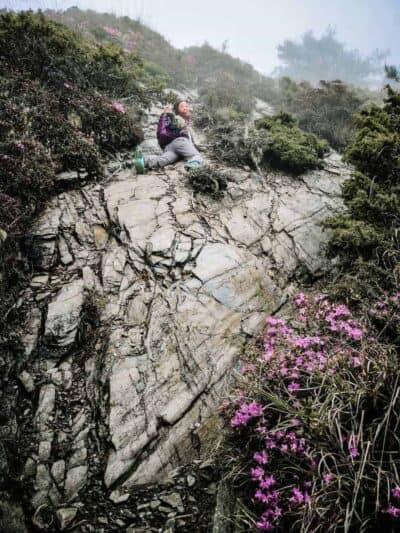 jeana mountain hiking taiwan scaled