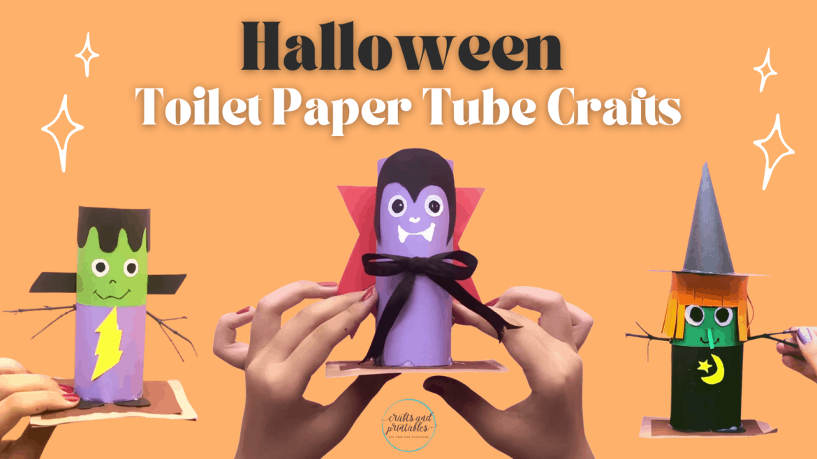 Easy Toilet Paper Roll Crafts for Halloween