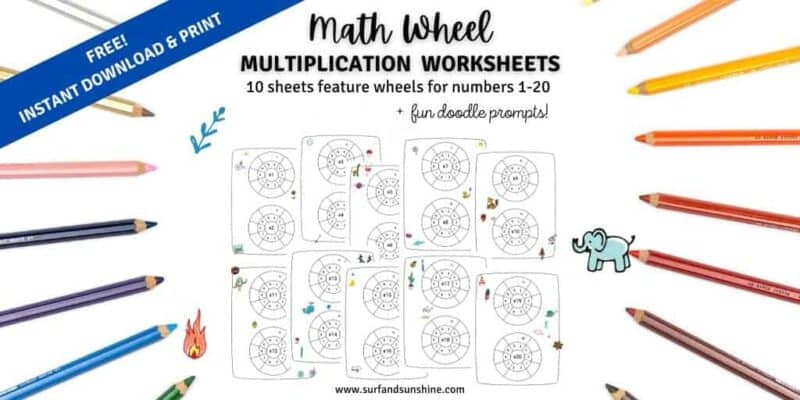 Math Wheel Mockups