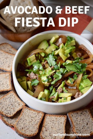 The Ultimate Avocado and Beef Fiesta Dip Recipe