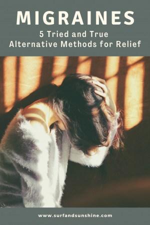 alternative methods for migraine relief