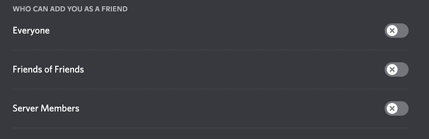 discord who can add you as a friend