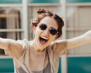 happy sunglasses