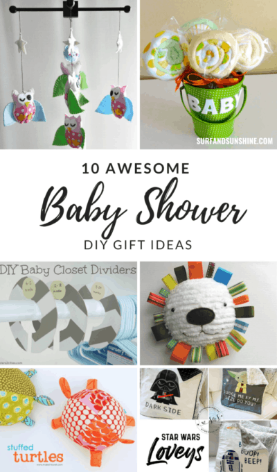 10 Creative DIY Baby Shower Gift Ideas